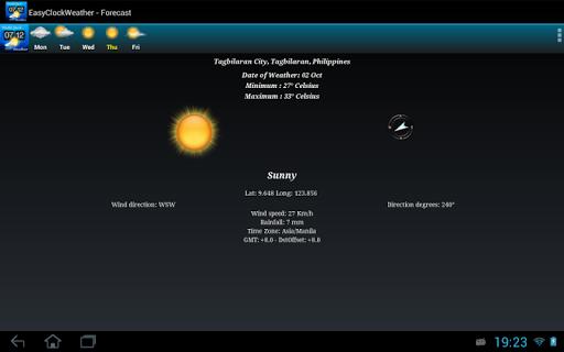EasyClockWeather screenshot 21