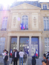Photo: The main entrance to the Palace, which is the exit today.