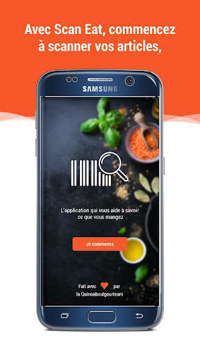 Scan Eat - Scanner alimentaire pour mieux manger  screenshots 3