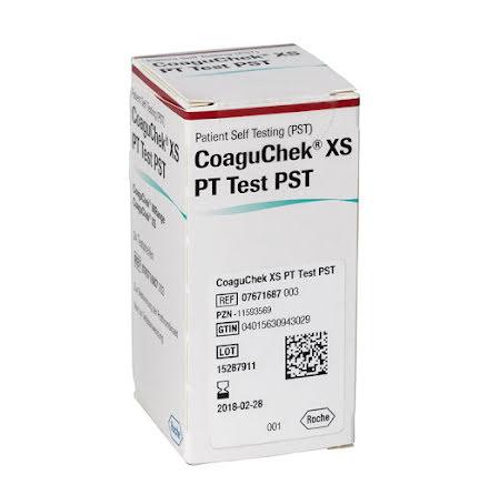 CoaguChek Testremsor 24 Stycken till INRange System