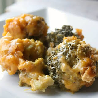 Slow Cooker Broccoli Cheese Casserole.