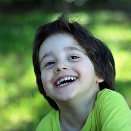 Feeling happy by Cristina Nunes - Babies & Children Child Portraits