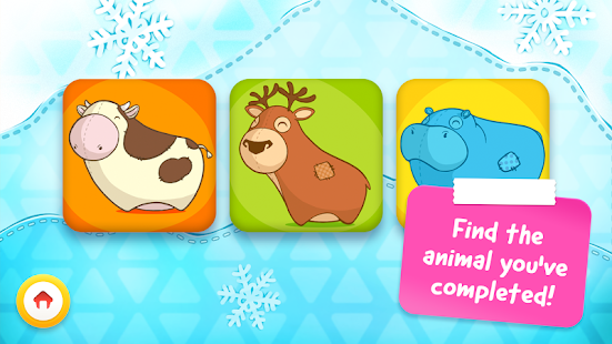 Animal Puzzle - Game for toddlers and children- screenshot thumbnail