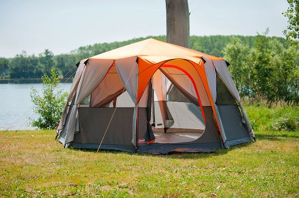 Coleman Cortes Octagon 8 Person Family Tent