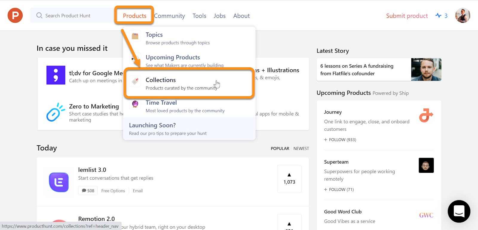Product Hunt Launch Strategy: Collections