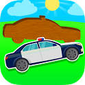 Police Car Puzzle for Baby icon