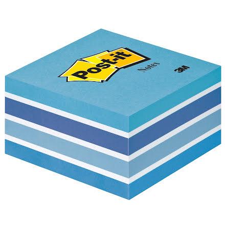Post-it kub 76x76 blå