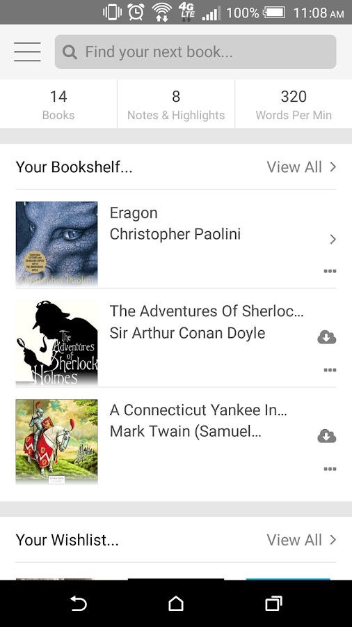 BookShout!- screenshot