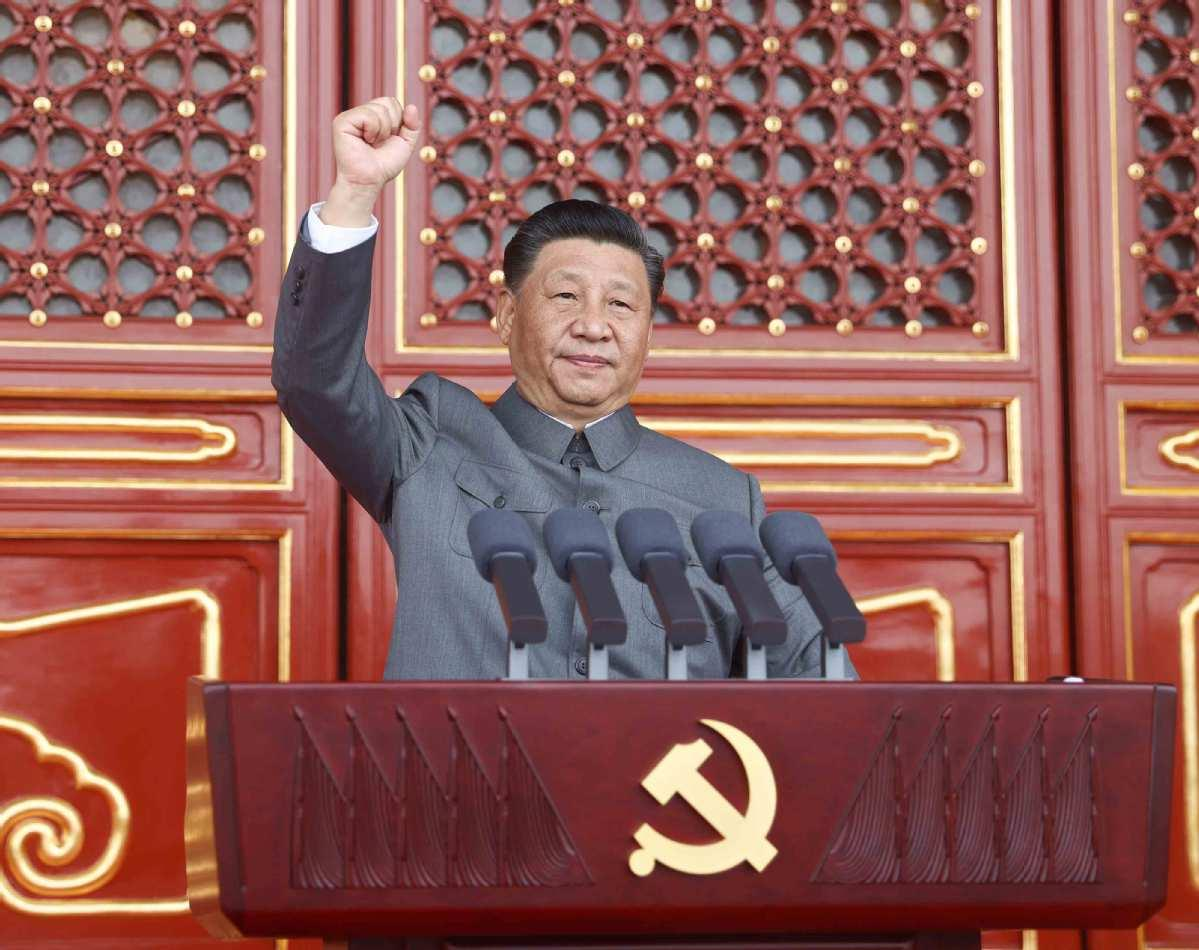 Full Text: Speech by Xi Jinping at a ceremony marking the centenary of the  CPC - Chinadaily.com.cn