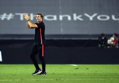 """Le coach du FC Séville fier de ses troupes : """"Manchester Unitedétait la meilleure équipe d'Angleterre après la reprise"""""""