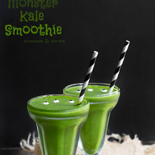 Simple Monster Kale Smoothie.