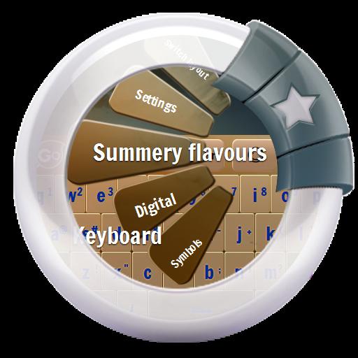 夏の香りNatsunokaori GO Keyboard 個人化 App LOGO-APP試玩