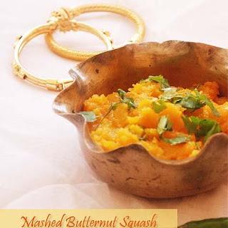Kumro Seddho -- Mashed Butternut Squash