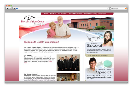 Photo: Lincoln Vision Center |  Lincoln, NE |  LincolnVisionCenter.com