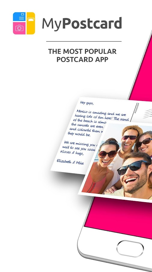 MyPostcard Photo Postcard App and Greeting Cards- screenshot