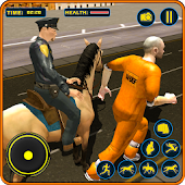 Police Horse Street Crime Game: Crime Simulator 3d