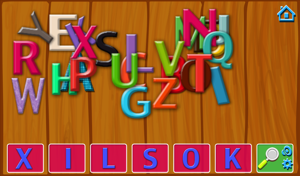 Hidden Alphabets- screenshot