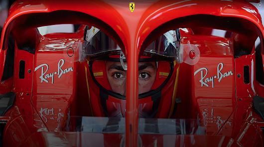 Carlos Sainz ya ha rodado hoy con Ferrari