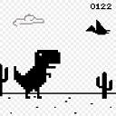 T-Rex Dino Chrome