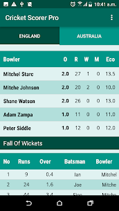 Cricket Scorer 6
