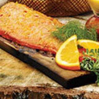 Asian Ginger Cedar Plank Salmon