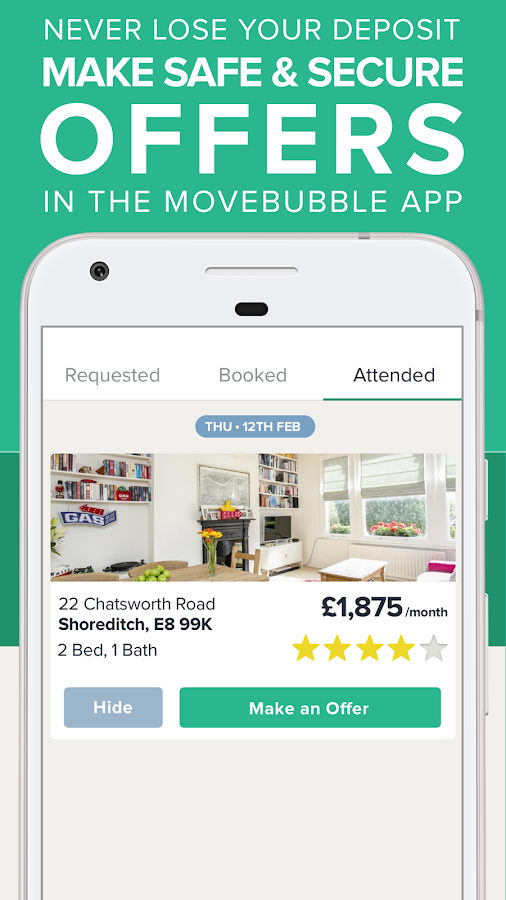 Movebubble – Property Finder- screenshot