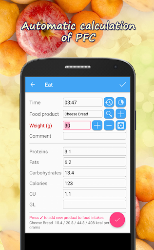 Calorie Counter HiKi 2.77 screenshots 2