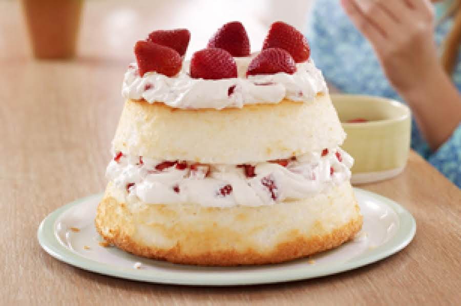 Fast Angel Food Cake Recipe