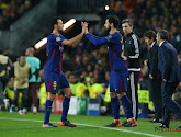 Busquets absent trois semaines