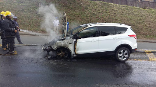 Another Ford Kuga Family Suv Burst Into Flames After Technicians Assured The Owner The Vehicle Was