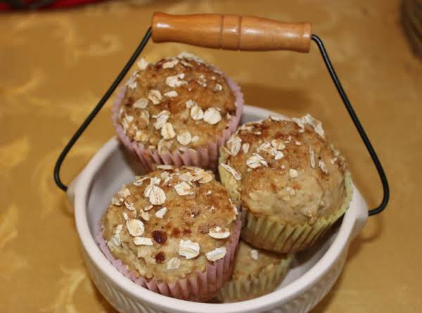 Oatmeal Cream Cheese Muffins