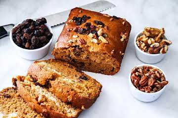 Pumpkin Bread With Maple Cream Cheese Filling