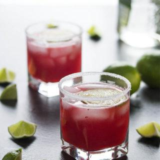 Fresh Cranberry Margaritas