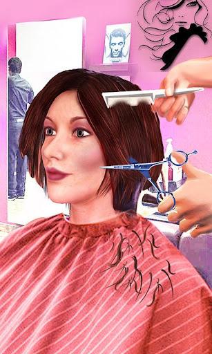 Girls Haircut, Hair Salon & Hairstyle Games 3D 1.4 screenshots 2