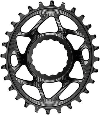 Absolute Black Oval Narrow-Wide Direct Mount Chainring - CINCH Direct Mount, 3mm Offset alternate image 4