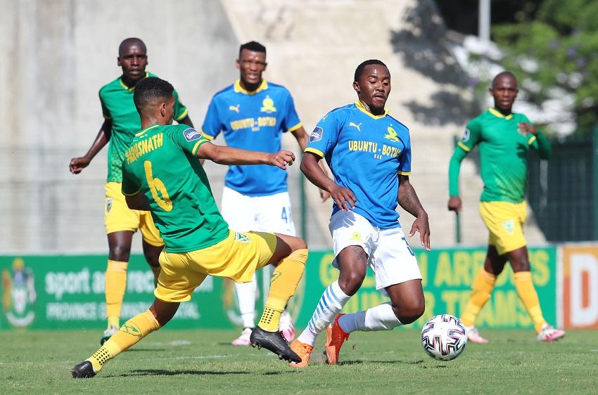 Arrows deny Sundowns three points in Durban