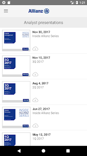 Allianz Investor Relations- screenshot thumbnail