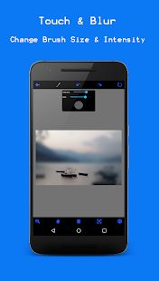 Photo Blur Background Editor Screenshot