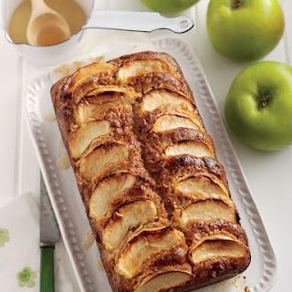 Bramley Apple, Honey & Whisky Drizzle Cake
