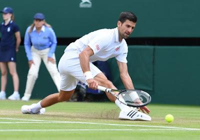 Wimbledon: Djoko estime élever son niveau