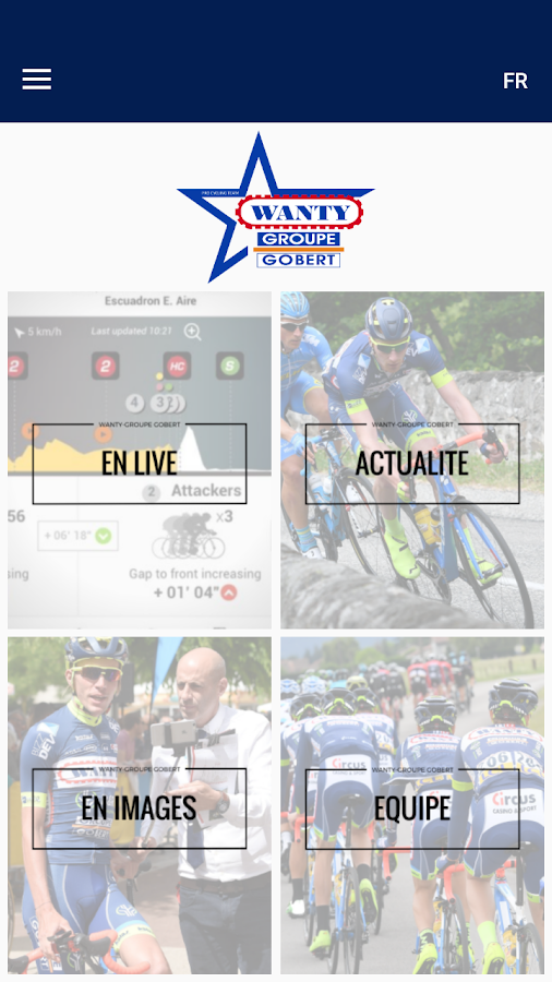 Wanty-Groupe Gobert – Capture d'écran