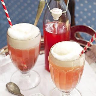 Rasberry Lemonade Float