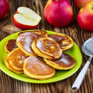 Spiralized Apple & Cinnamon Pancakes