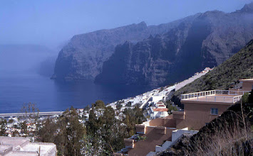 Photo: Acantilado de Los Gigantes en Tenerife