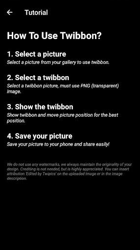 Twipics | #1 The Most Trending Twibbon App screenshots 3