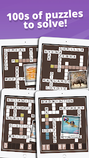 Picture Perfect Crossword- screenshot thumbnail