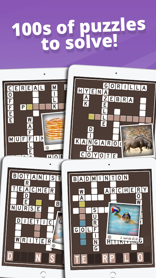 Picture Perfect Crossword- screenshot