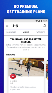MapMyFitness - фитнес-тренер Screenshot