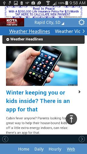 Download KOTA Mobile Weather Google Play softwares