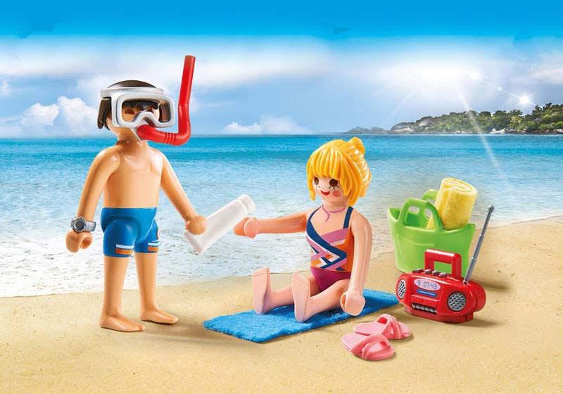 Contenido real de Playmobil® 9449 Duo Pack Playa